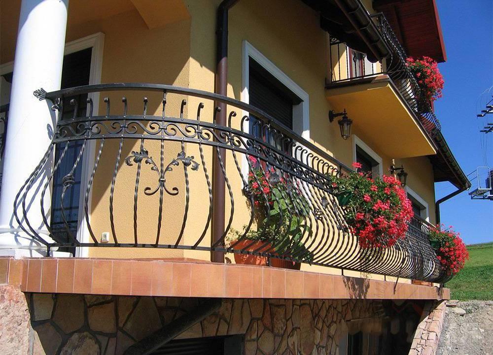 Кованое балконное ограждение цена Севастополь Крым