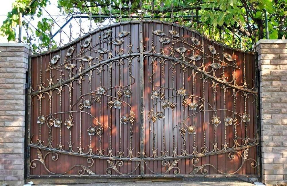 Кованые ворота Севастополь Крым
