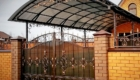 Кованые козырьки и навесы фото Севастополь Крым