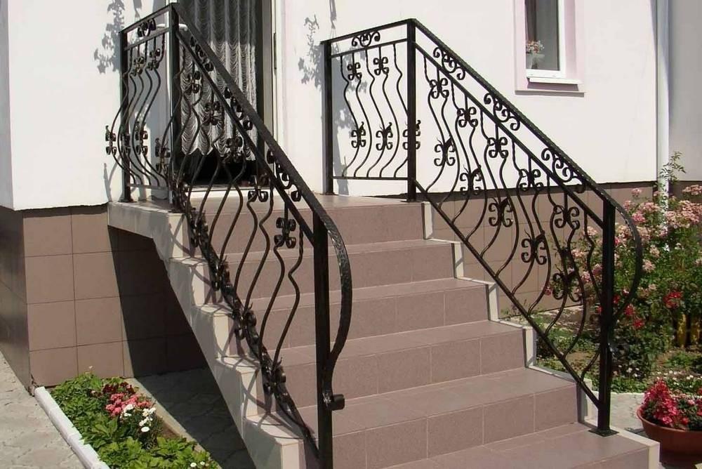 Кованые лестничные ограждения фото Севастополь Крым