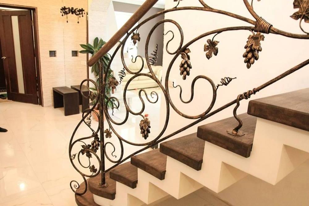 Кованые ограждения для лестниц Севастополь Крым