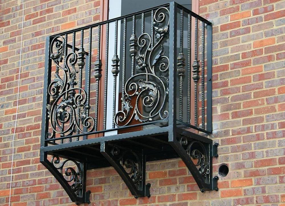 Кованые ограждения для балкона фото Севастополь Крым