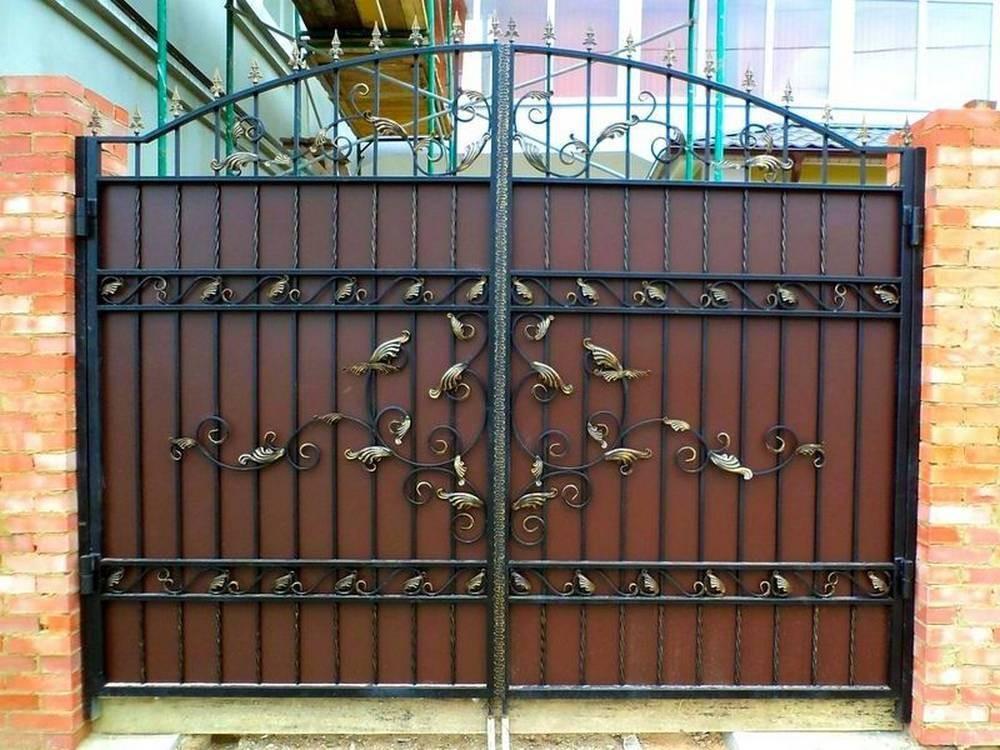 Красивые кованые ворота калитки Севастополь Крым